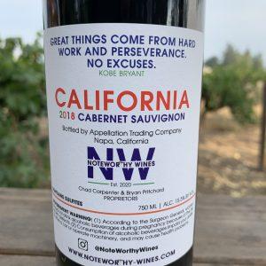 NoteWorthy Wines Cabernet Sauvignon