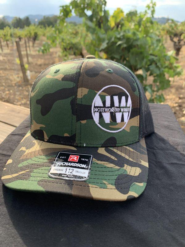 NoteWorthy Trucker Hat - Camo